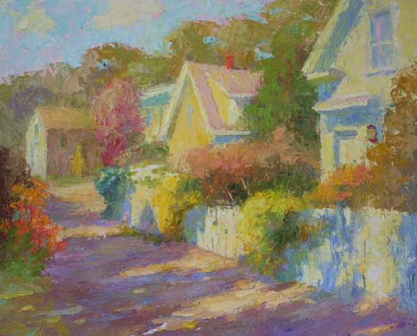 2018 Summer Streetscapes In Provincetown - Fine Art Connoisseur
