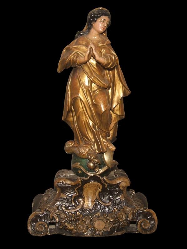 Polychrome Wooden Sculpture