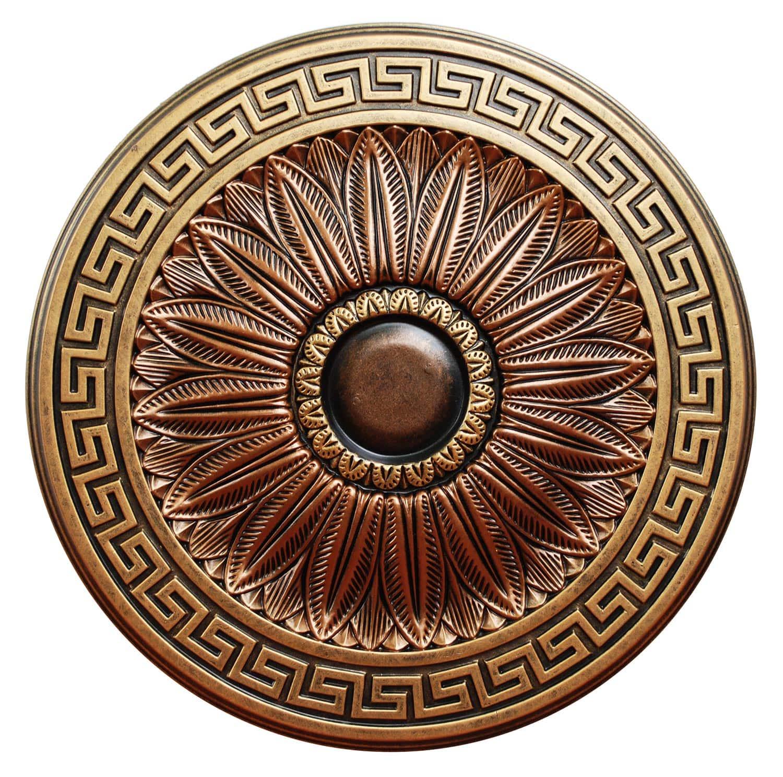 Ceiling Medallion Greek Idyll 20 In Ccmf 130 Fine Art