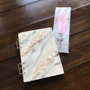 rose quartz scripturient journal