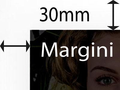 Margini di 30mm