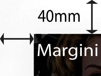 Margini di 40mm