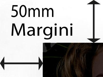 Margini di 50mm