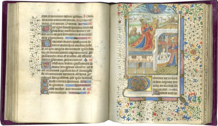 LES ENLUMINURES, Book of hours by Charles of Maine