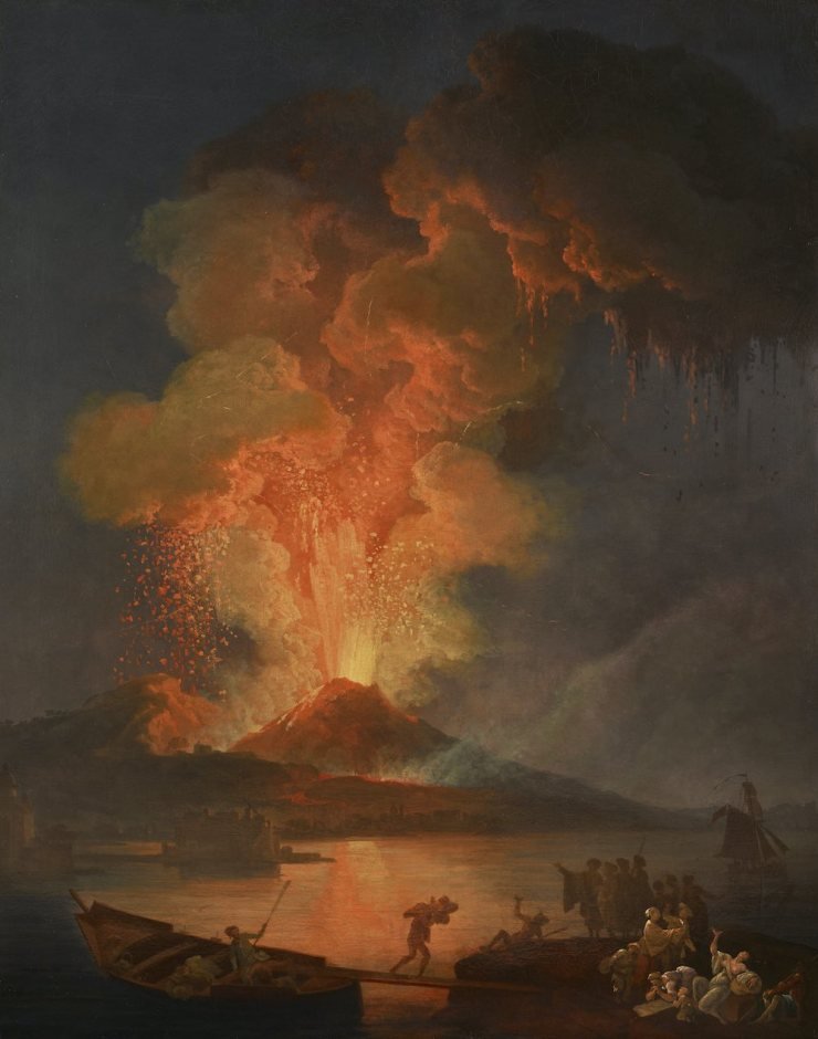 PERRIN FINE ARTS, Pierre-Jacques VOLAIRE, The eruption of Vesuvius