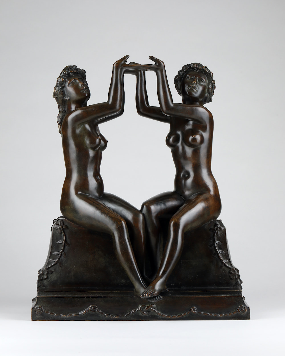 Aristide MAILLOL, Two Sisters: Subject for a Clock