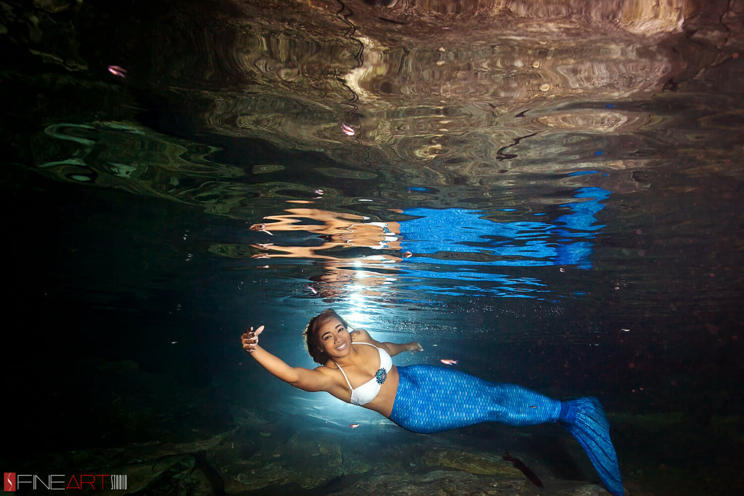 Mermaid Underwater Trash Dress Mexico - Fineart Studio