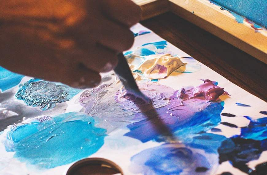 The Best Palettes for Acrylic Painting