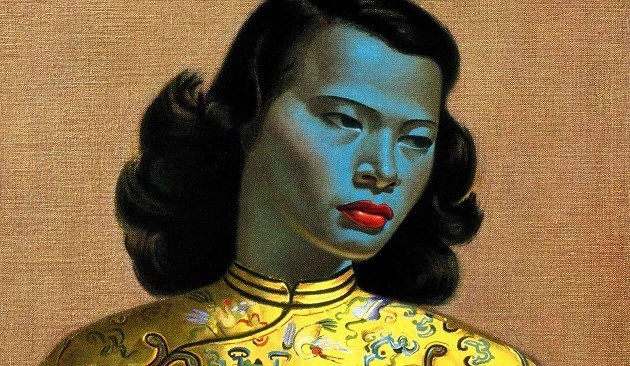 'Chinese Girl' by Vladimir Tretchikoff