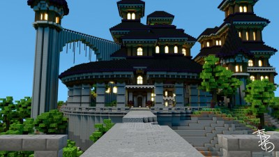 DARK MANSION – LARGE SERVER HUB