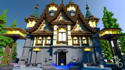 MANSION ON ISLAND – SERVER HUB