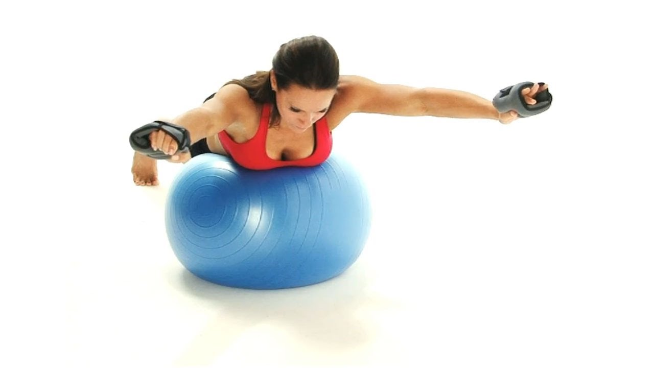 Exercises on the fitball for losing weight  FineDiets