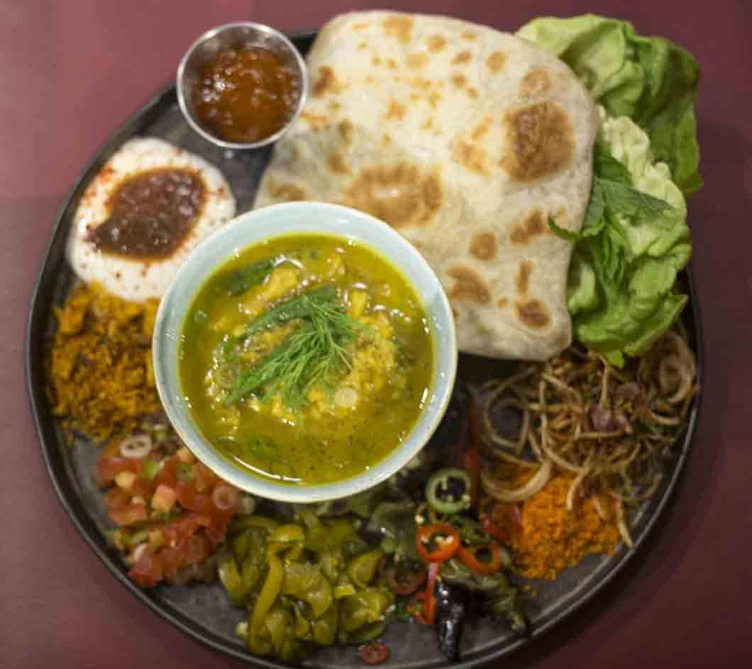 Fish Head Thali Temper city restaurant food tasting by Fine dining indian food magazine_11-min