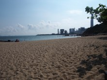 Communing with Nature, HK style. Still: it was amazing to be in the water again!