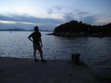 Sunset fishing spot.