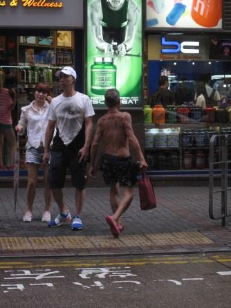 Yau Ma Tei street scene.