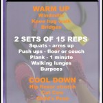3 Quick Workouts #noexcuses