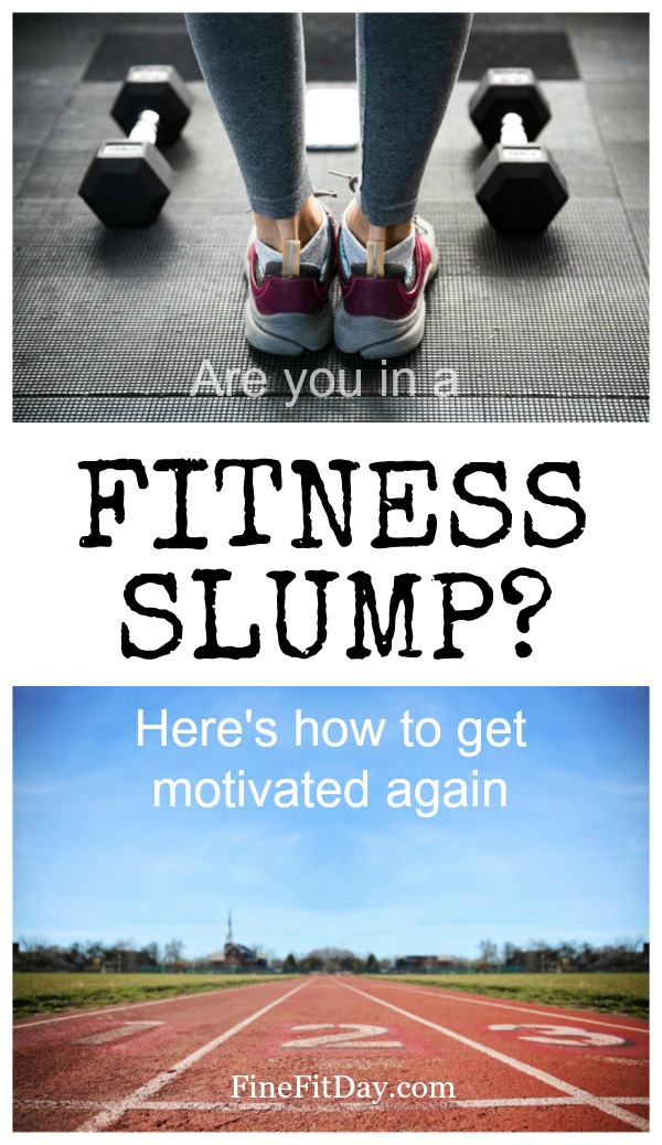 When you're lacking motivation to get to the gym, or hit snooze for the 4th time on your workout alarm, check out these steps for breaking out of a fitness slump.