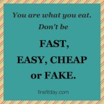 Fast, Easy, Cheap, Fake.