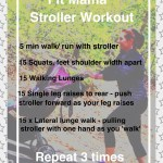Fit Mama Stroller Workout