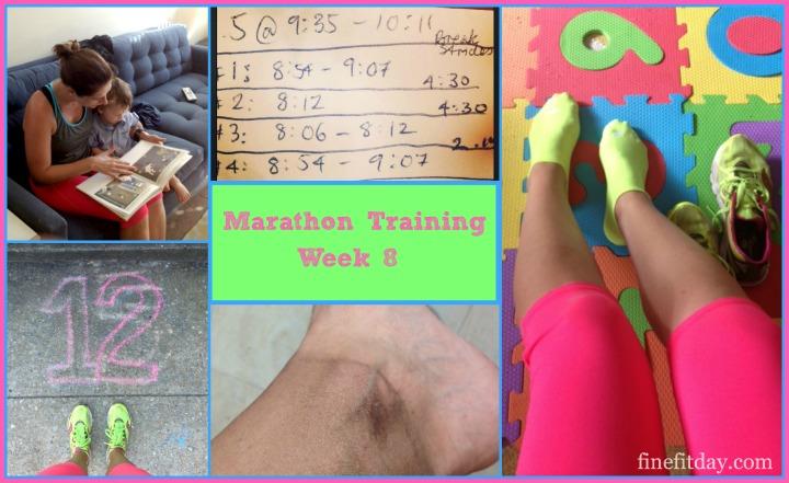 Marathon Training Update - Week 8