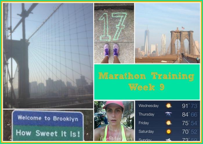 Marathon Week 9