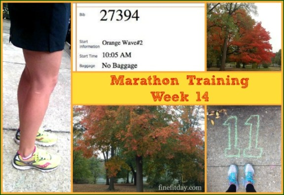 Marathon Training Update Week 14