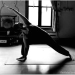 Taking a hard yoga class with a friend who is literally a yogi is slightly intimidating…