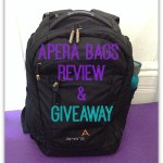 Apera Bags Review and Giveaway!