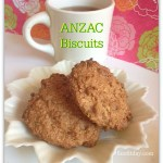 Recipe – ANZAC Biscuits