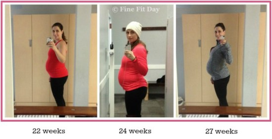 Fine Fit Pregnancy - Third Trimester Bump Watch