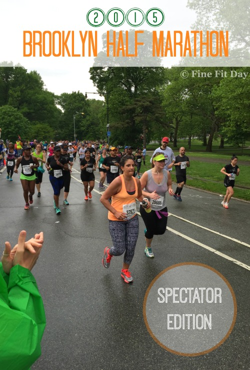 Brooklyn Half Marathon 2015 - Spectator Edition. A rainy, miserable start to the NYRR Brooklyn Half didn't stop the runners and it didn't keep the spectators away either. Check out these tips for being the best spectator possible at any race.