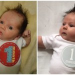 Then and Now – Baby Update