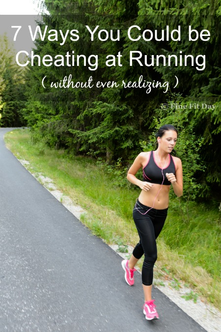 7 Ways You Could be Cheating at Running: What's considered cheating when running races or training is not always as black and white as doping scandals and cutting the course short. Check out this list of things you may not even have considered to be a way to cheat for runners. See if you do anything others may consider giving yourself an unfair advantage.