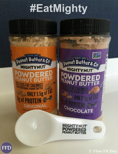 Go Mighty Powdered Peanut Butter - Not one, but two great, protein-packed recipes! Raspberry and Chocolate Peanut Butter Smoothie Bowl, as well as Apple Peanut Butter mini muffins. Perfect post-workout fuel, or a healthy breakfast, these recipes will keep you full and give you a protein boost without resorting to processed protein powder.