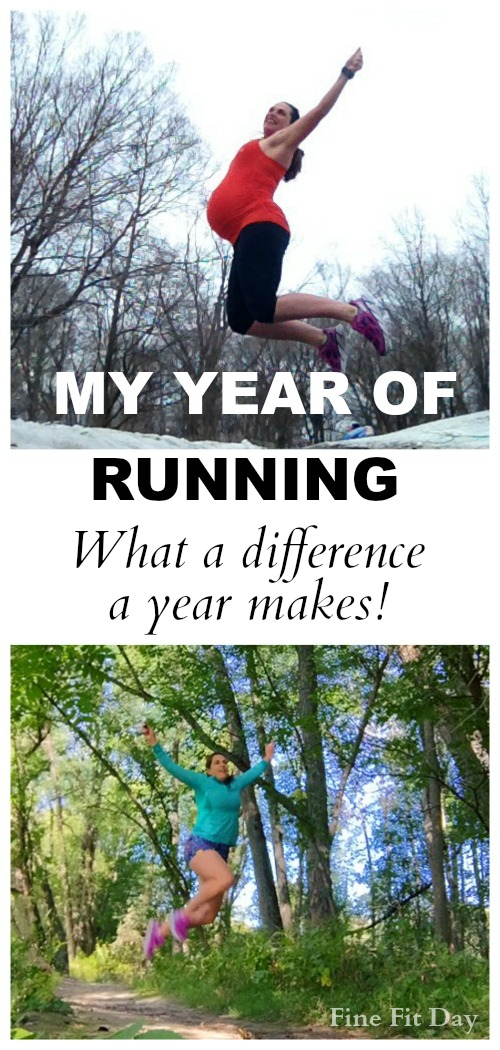 My Year of Running 2015 - What a difference a year makes! From running through pregnancy, starting over with postpartum running, dealing with injury, being inspired by others - my year was filled with highs and lows. The best advice I received this year? Go for a run - you'll feel better. | runchat | runner | fitness |