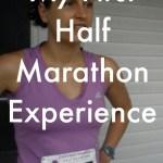 My First Half Marathon Experience