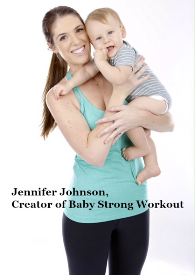 As part of a Baby Strong Workout review, I was challenged to work out using ONLY the Baby Strong Workout exercises, all of which incorporate baby (yes, even the stretching!). Result? Holy sore butt and abs! Check out why this is such an effective exercise program for new moms. #ad