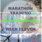 Vermont City Marathon Training – Week 11