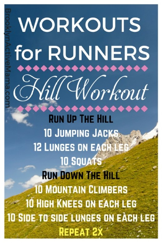 6 Hill Running Workouts. Part of a monthly workouts for runners round up from running coaches, trainers and bloggers.