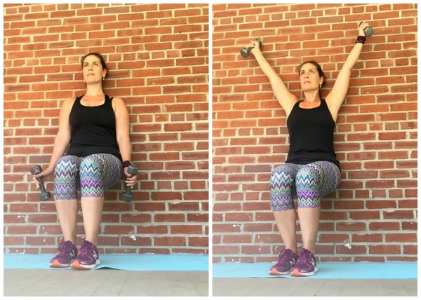 Try this wall sit workout as a challenge at the end of your next run or strength training session.