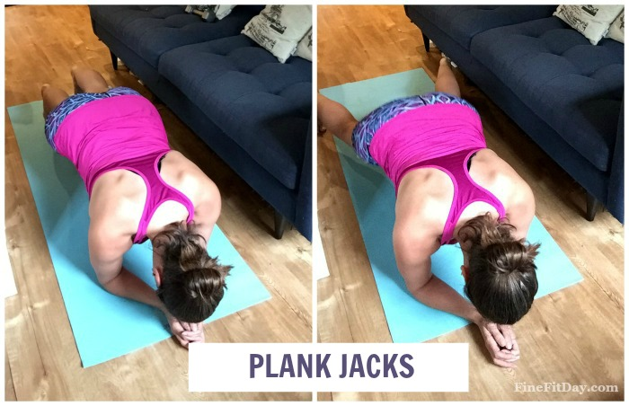 A full body plank workout you can do anywhere! Great for working on your abs, posture and strength.
