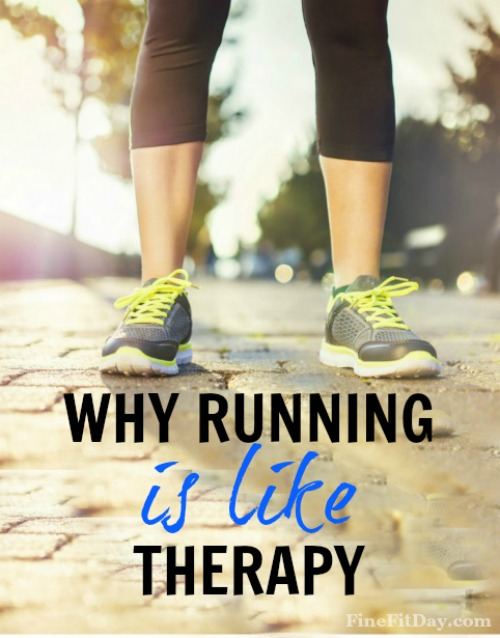 Why Running is Like Therapy - how running can improve your mental health and your every day happiness.