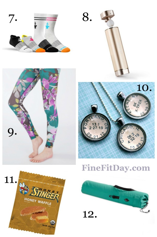 Fitness Gift Guide - all the best gifts for the fitness lover in your life. Perfect for birthdays, Christmas, Hannukah, or any special occasion.