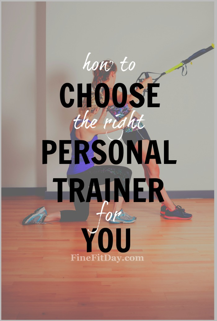 Want to know how to choose the best personal trainer for you? Check out this trainer's advice on making sure you're working with the right person!