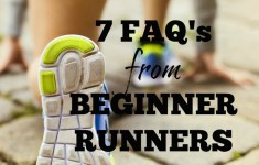 7 FAQ's for Beginner Runners