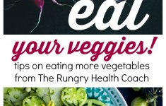Eat Your Veggies! Tips from The Rungry Health Coach