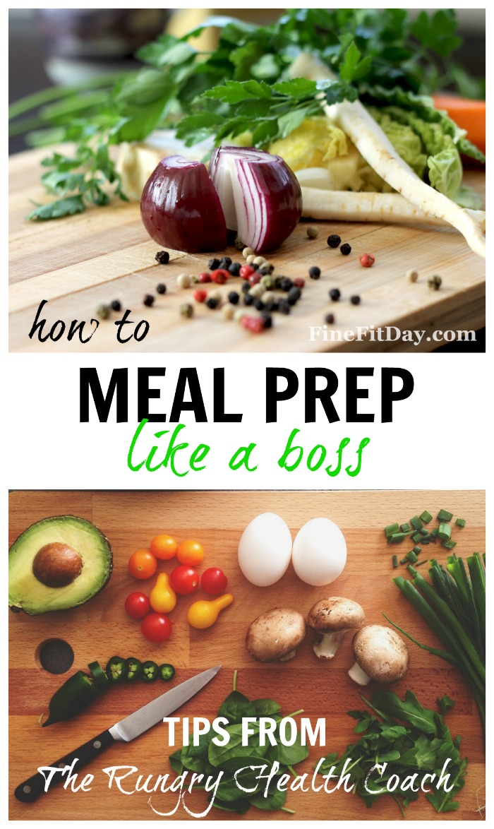 How to Meal Prep Like a Boss - The Rungry Health Coach has great tips and advice on how you can make meal prep as simple and easy as possible!