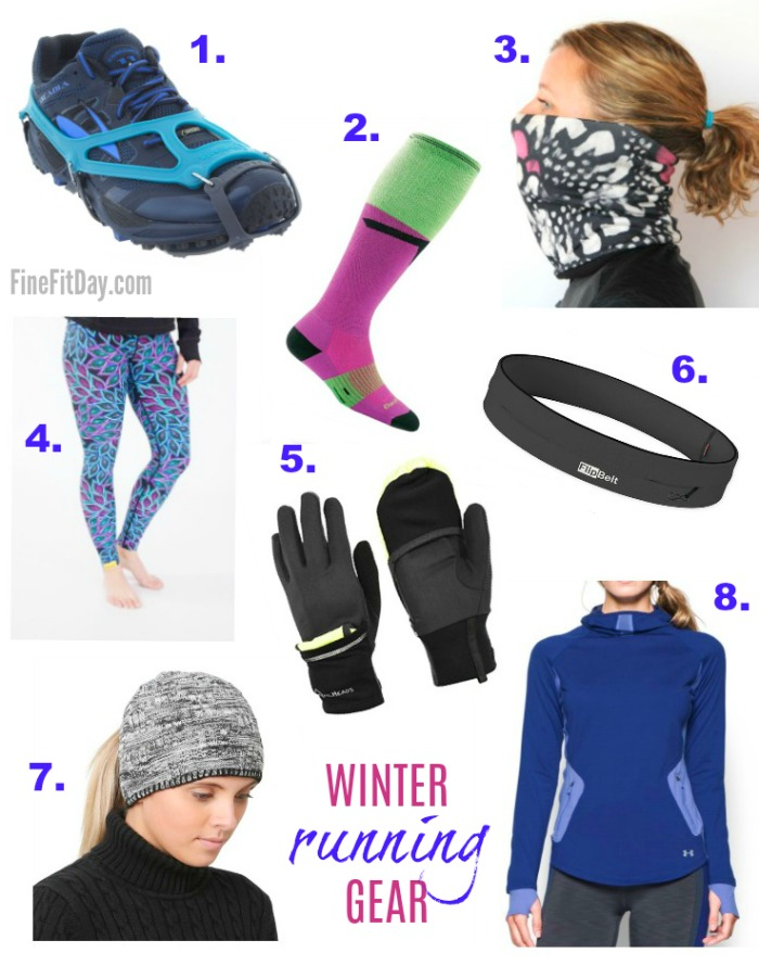 Running Outside in Winter - Tips and Tricks. Some key winter running gear to keep you warm and safe when you're running outside in the cold.