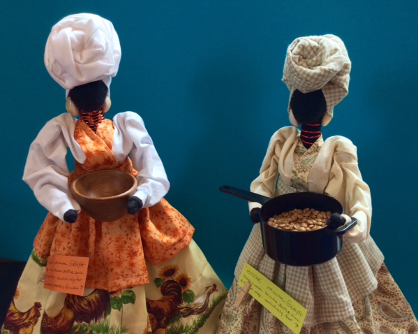 New Kitchen Lady Gullah Dolls - Henny and Hester